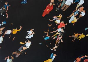 Daniele GALLIANO - Pittura - Come in Cielo Così in Terra #14