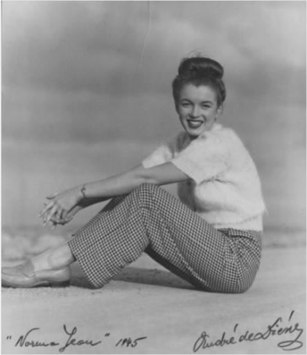 André DE DIENES - Fotografie - André de Dienes Norma Jean (1945) - 1950