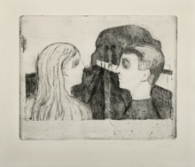 Edvard MUNCH - Print-Multiple - Attraction II