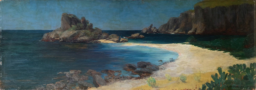 Curt STOEVING - Pintura - Taormina