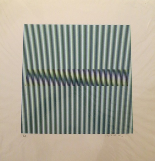 Carlos CRUZ-DIEZ - Estampe-Multiple - Composition