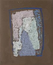 Alexander ORLOV - Painting - Composition, 1963