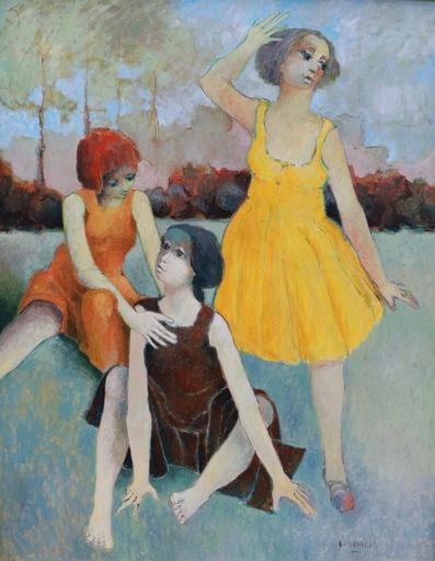 Guy DEMUN - Pintura - 1906