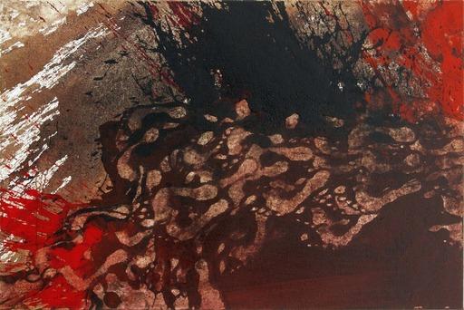 Hermann NITSCH - Painting - 70. Malaktion - Schüttbild (Archiv: SF_17_14)
