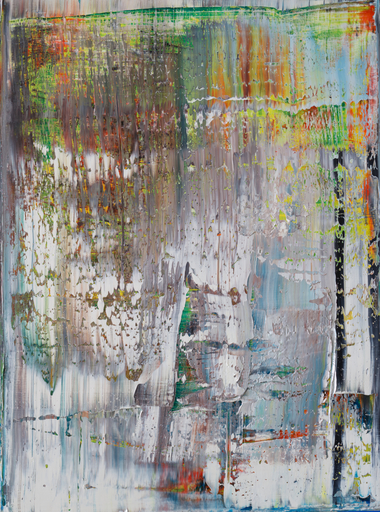 Harry James MOODY - Peinture - White and Colours No. 530