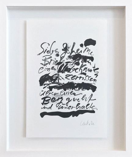 昆特•约克 - 版画 -  Sieben geheime Briefe