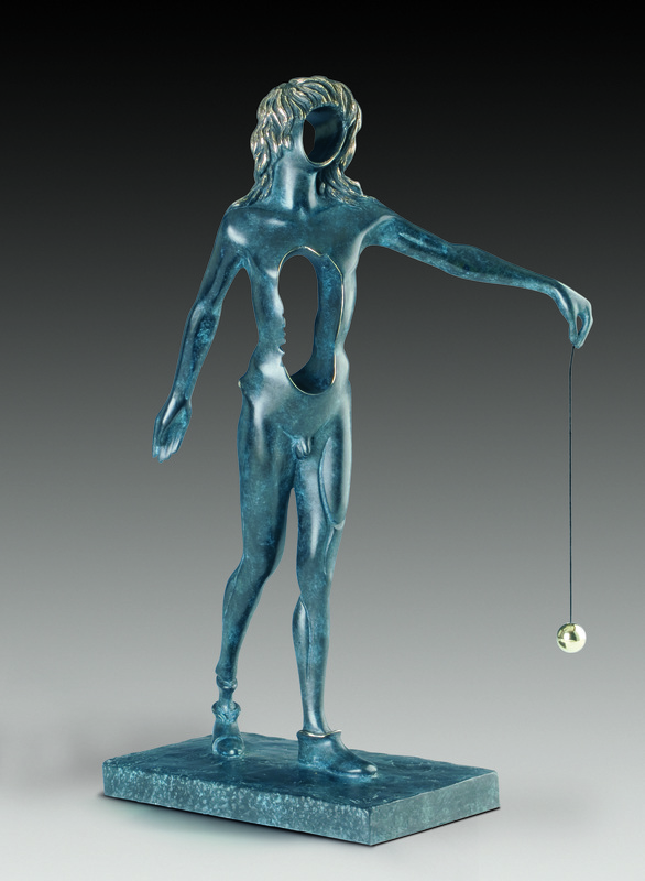 Salvador DALI - Sculpture-Volume - Surrealist Newton, Newton surréaliste