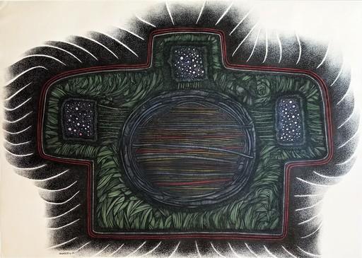 Alfredo SOSABRAVO - Drawing-Watercolor - Anatomicum Ceremonial