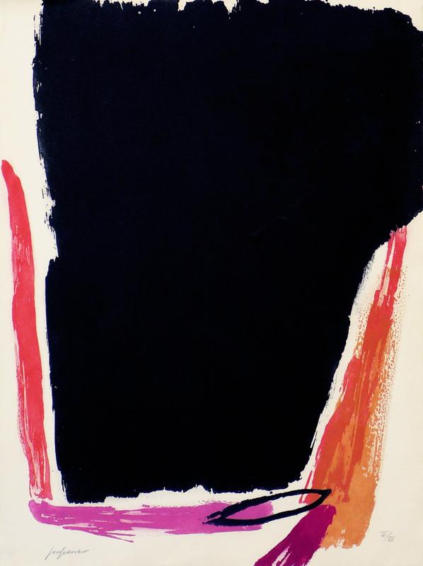 José GUERRERO - 版画 - Sin Título