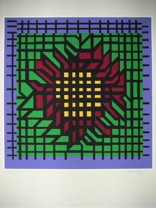 Victor VASARELY, Abstract Composition