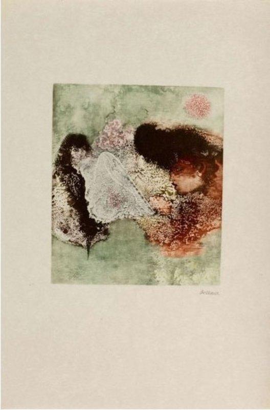 Hans BELLMER - Grabado -  Les Mariés