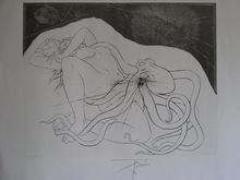 Pierre-Yves TRÉMOIS - Print-Multiple - GRAVURE 1974 SIGNÉE AU CRAYON NUM/65 HANDSIGNED NUMB ETCHING