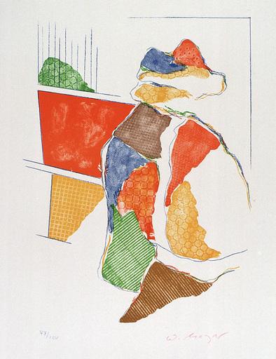 Willy MEYER - Estampe-Multiple - Figur
