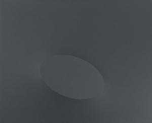 Turi SIMETI (1929) - Un ovale grigio