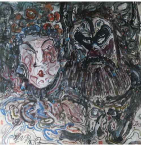TANG Hai Guo - Peinture - 戏08