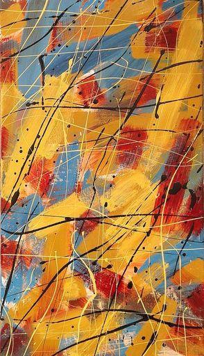 Marie Edmée SEGUIN - Painting - la Nuit Des Temps n°61