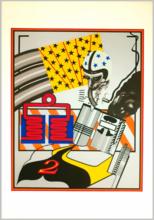 Peter PHILLIPS - Print-Multiple - Custom painting no.6