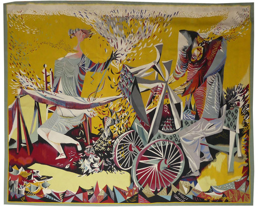 Jacques LAGRANGE - Tapestry - Banlieue