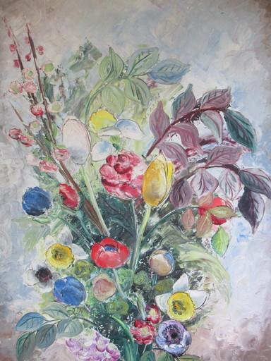 Lydia RADDA - Painting - Bouquet