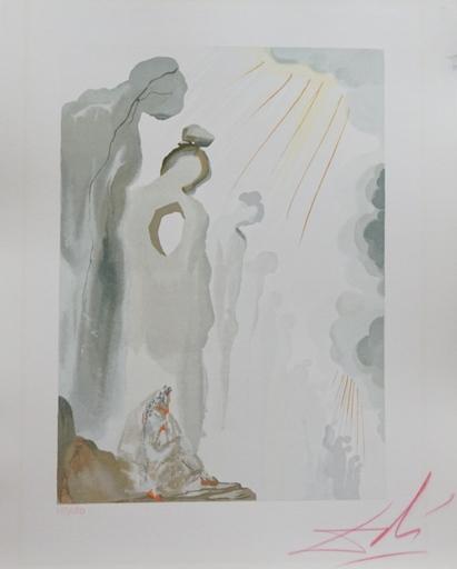 Salvador DALI - Druckgrafik-Multiple - Divine Comedy Purgatory Canto 13