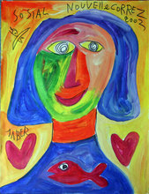 JABER - Painting - Nouvelle Correz