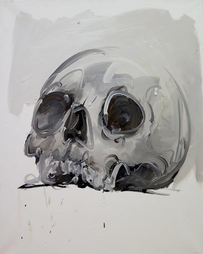 Philippe PASQUA - Painting - Crâne II