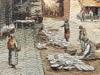 Boris Eremeievich VLADIRMIRSKY - Dessin-Aquarelle - Le Cour Saleya