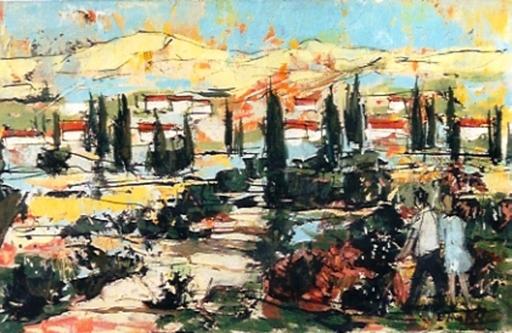 Bertoldo TAUBERT - Gemälde - *Paysage