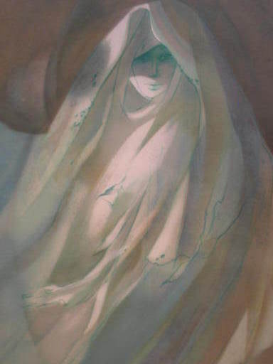 Jean-Baptiste VALADIÉ - Estampe-Multiple - Le fantôme,1980