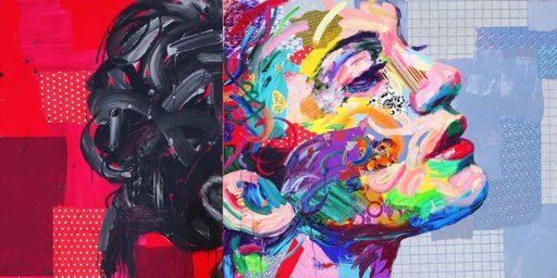 Antonio MURGIA - Peinture - Purposeful Life