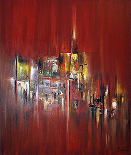 Hayat SAIDI - Peinture - Illumination
