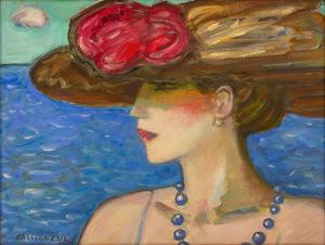 Jean-Pierre CASSIGNEUL - Peinture - Pamela