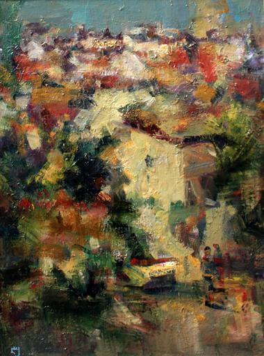 Levan URUSHADZE - Pintura - Portugal landscape