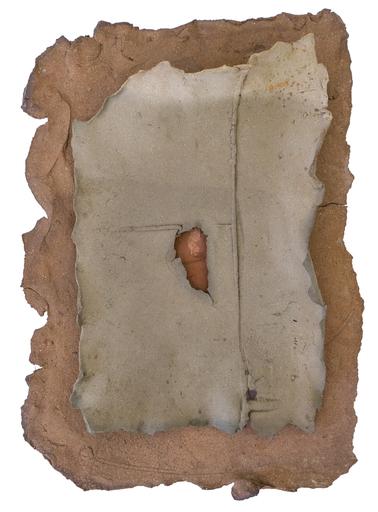 Nanni VALENTINI - Sculpture-Volume - Terra-numero e terra-bagnato