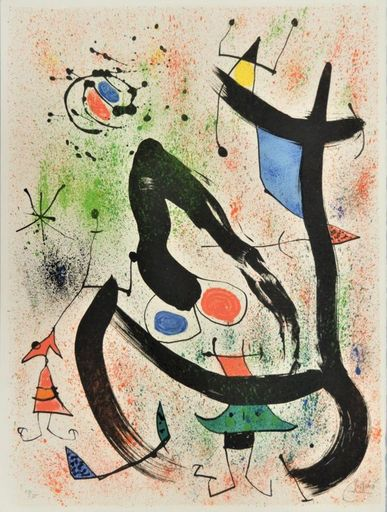 Joan MIRO - Estampe-Multiple - Les Voyants