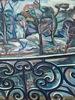 Jean DELDEVEZ - Painting - Vue du balcon