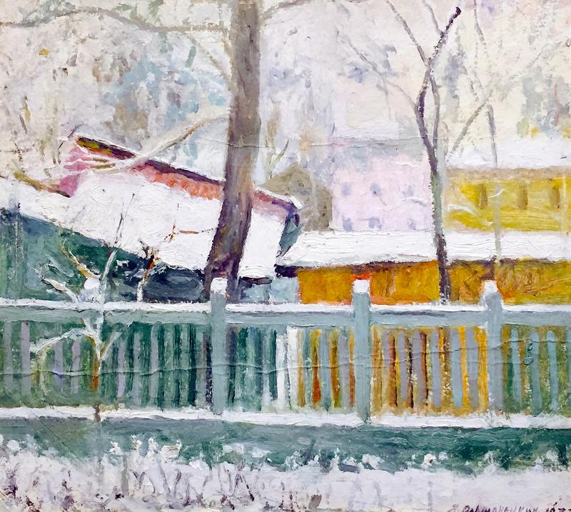 Jacov OLSHANETSKY - Pintura - Winter in Odessa
