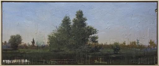 Peter HOFFER - Peinture - Tree Study at Dusk