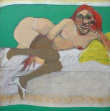 Carlos ALONSO - Pittura - Figura femminile