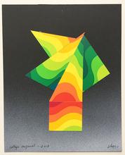 Julio LE PARC - Dessin-Aquarelle - collage