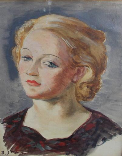 Louis BERTHOMMÉ-SAINT-ANDRÉ - Pintura - Portrait