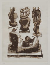 Henry MOORE (1898-1986) - Ideas for Wood Sculpture