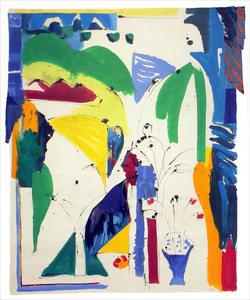 Judith WOLFE - Peinture - Les pots d'Angélique IV