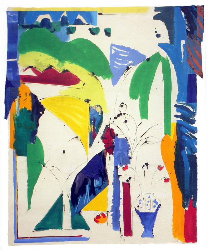 Judith WOLFE - Painting - Les pots d'Angélique IV