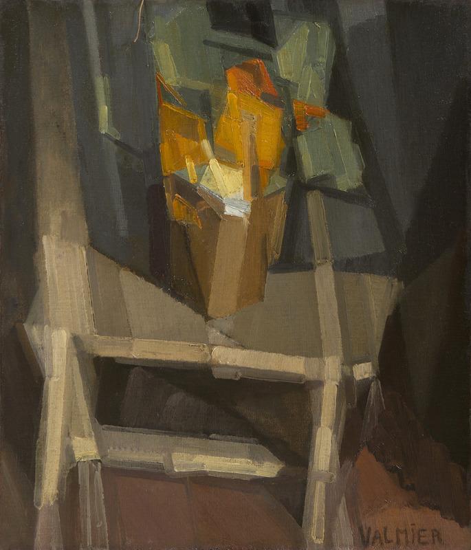 Georges VALMIER - Pittura - Nature morte sur une table