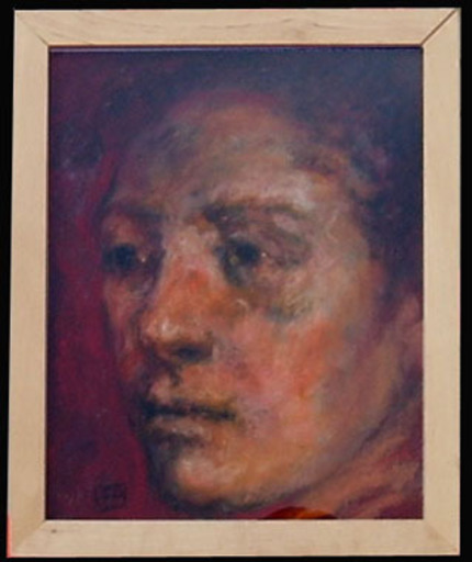 Jean-Pierre DELISSE - Pintura - Visage homme 1