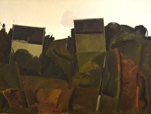 Alberto MANFREDI - Pittura - Paesaggio