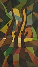 Emilio PETTORUTI - Painting - Paisaje