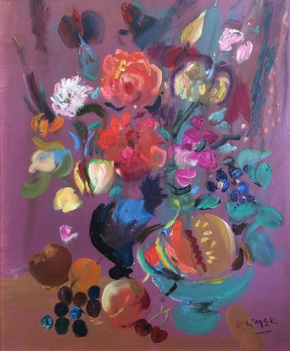 Ludwig KLIMEK - Pittura - Bouquet