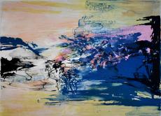 ZAO Wou-Ki - Print-Multiple - Untitled, from: 12th Anniversary Galeria Joan Prats 1976-88